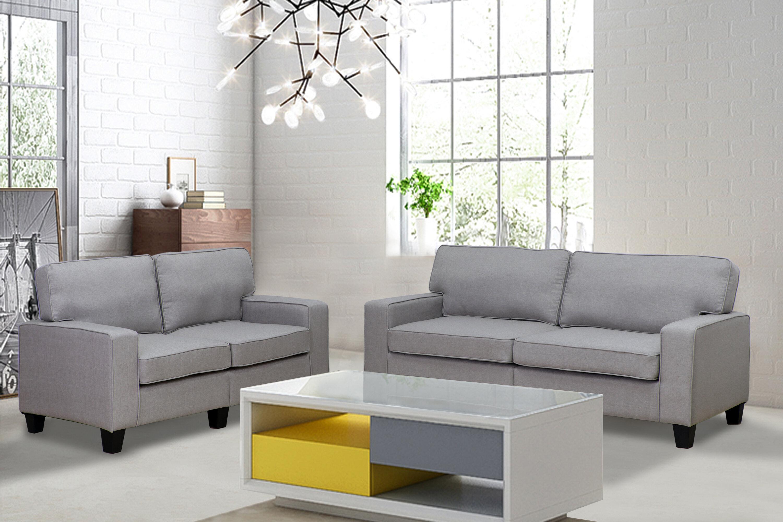 Living In Style Jordan 2 Piece Living Room Set & Reviews | Wayfair
