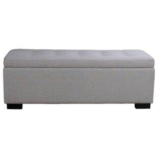 Wade Logan Thom Upholstered Storage Bench