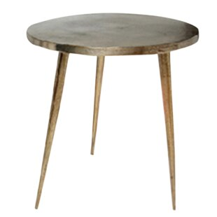 Cameo Small Cast Tripod End Table by World Menagerie