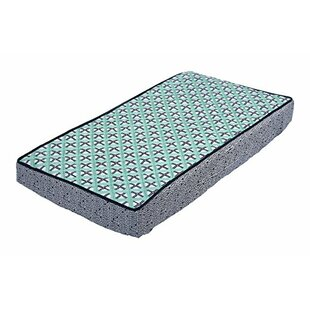 Read Reviews Glenni Dot Cross Quilted Changing Pad Cover ByHarriet Bee