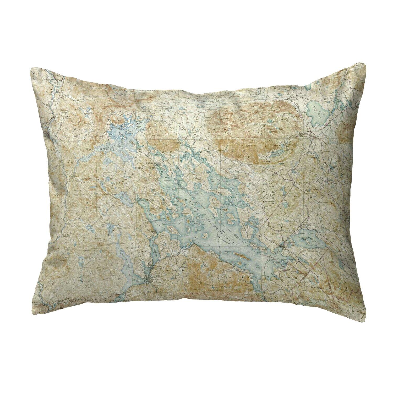 East Urban Home Winnipesaukee Nh Non Corded Indoor Outdoor Lumbar Pillow Cover Wayfair