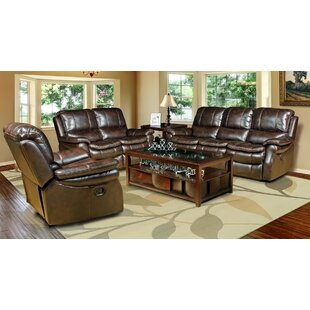 Fontanelle Reclining Configurable Living Room Set