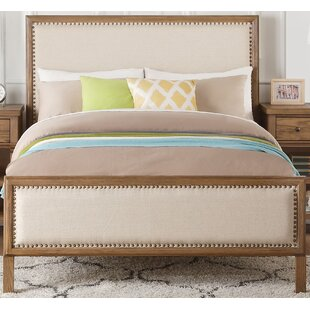 Leatrice Panel Bed with Padded
