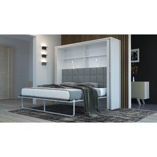 Burlwood King Upholstered Murphy Bed by Latitude Run
