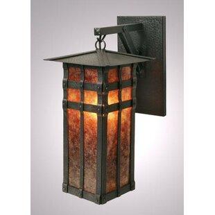 Steel Partners San Carlos 1-Light Outdoor Wall Lantern