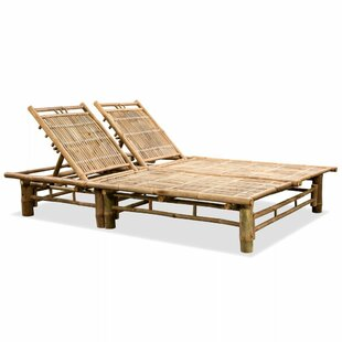 Verano Double Reclining Sun Lounger (Set Of 2) By Bay Isle Home