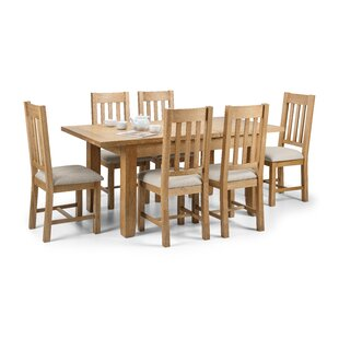 Berwick Dining Set With 6 Chairs By ClassicLiving