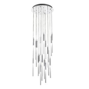 Everly Quinn Kohn 21-Light LED Pendant
