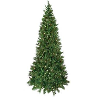 Regency International 15' Green Belgium Christmas Tree with White