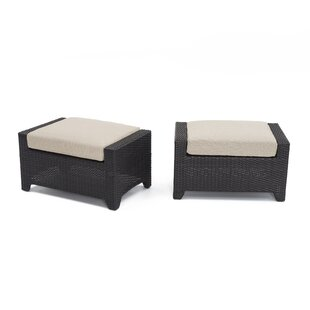 Northridge Ottoman with Cushion (Set of 2)