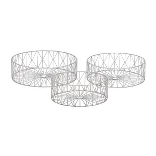 Best Reviews 3 Piece Metal Basket Set By Cole & Grey