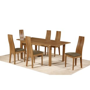 Avedik Dining Set With 6 Chairs (Set Of 7) By 17 Stories