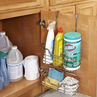 Simplify 2 Tier Over-the-Cabinet Door Organizer