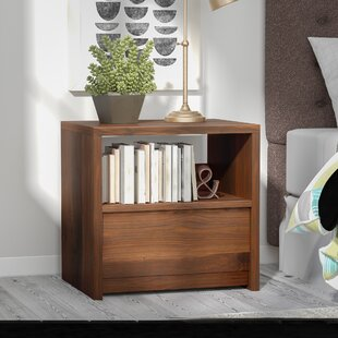 Compare & Buy Posner 1 Drawer Nightstand By Mercury Row