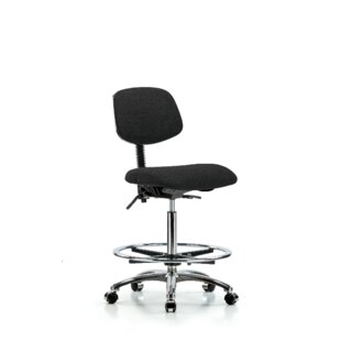 Charlotte Drafting Chair by Symple Stuff Cheap
