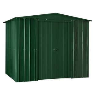 8 Ft. W X 6 Ft. D Apex Metal Shed By WFX Utility