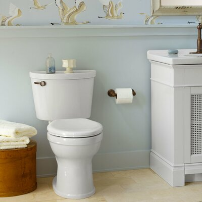 American Standard Rough In 1.28 GPF Elongated Two-Piece Toilet