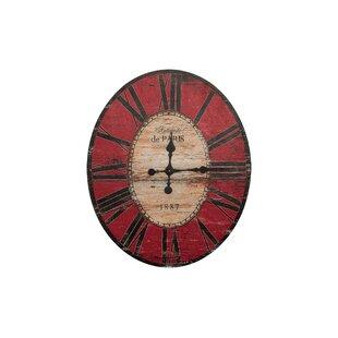 43530d84e8 Red Wall Clocks You'll Love in 2019 | Wayfair