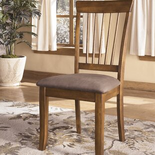 Hello Holidays! Solange Upholstered Dining Chair Set of 2 Bay Isle Home