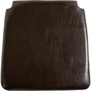 Faux Leather Dining Chair Cushion (Set Of 2) By DCor Design