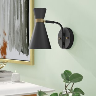 Find Roseman 1-Light Armed Sconce By Wrought Studio