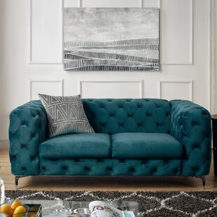 Koger Tufted Chesterfield Sofa