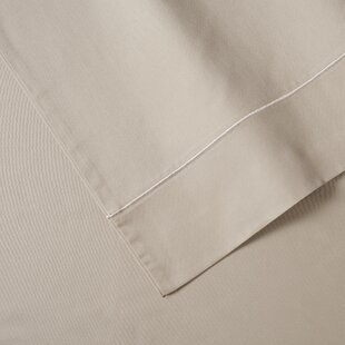 Anna Simona 400 Thread Count Sateen Cotton 4 Piece Sheet Set