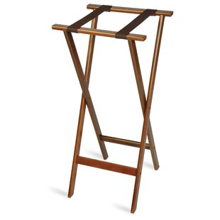 Deluxe Wood Tray Stand with Strap