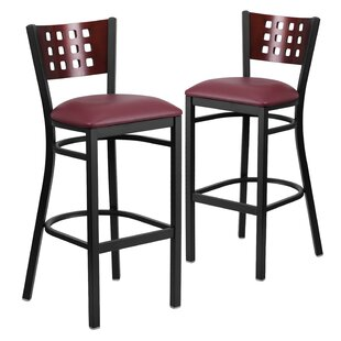 Find for Alvera 32 Swivel Bar Stool (Set of 2) by Ebern Designs Reviews (2019) & Buyer's Guide