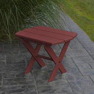 Anika Folding Wooden Side Table