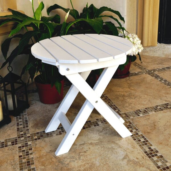 Beau Shine Company Inc. Adirondack Folding Side Table | Wayfair
