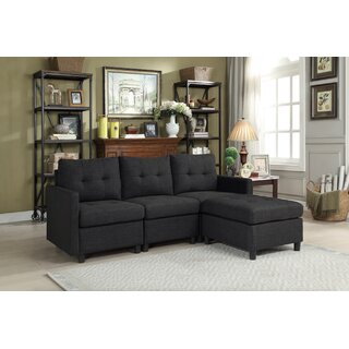 Westerman Modular Sectional with Ottoman by Winston Porter SKU:AE116283 Information