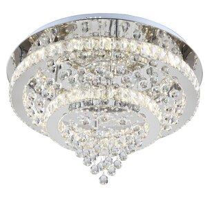 Everly Quinn Kamena Flush Mount