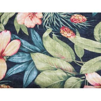 Rosecliff Heights Maio 27 Rectangle Floral Standard Ottoman Wayfair