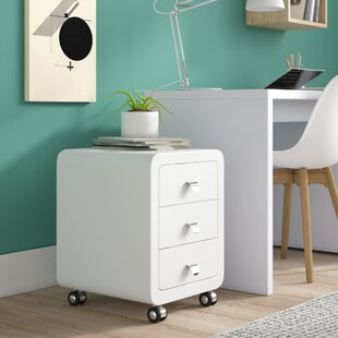 Club 3 Drawer Filing Cabinet By KARE Design