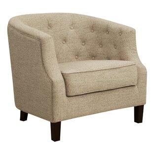 Charlton Home Sandstrom Barrel Chair