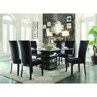 Latitude Run Dycus 7 Piece Dining Set
