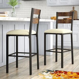 Thurman 30.5 Bar Stool (Set of 2) Red Barrel Studio