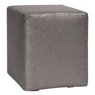 Ashlynn Box Cushion Ottoman Slipcover By Everly Quinn