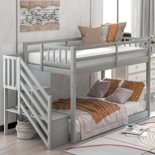 Damiann Twin over Twin Bunk Bed with Shelf