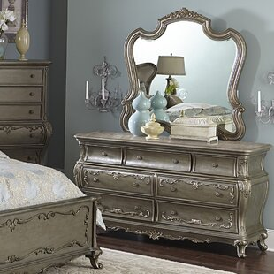 Turville 7 Drawer Dresser With Mirror by Astoria Grand Reviews