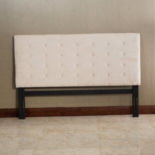 Best Price Putterham King Upholstered Panel Headboard by Red Barrel Studio
