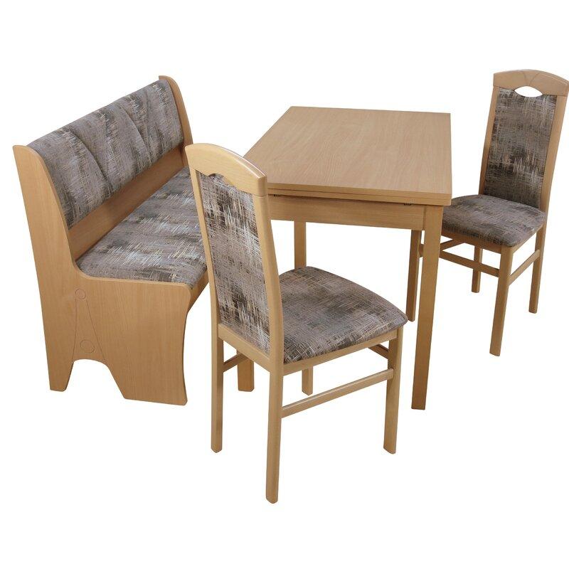 Ophelia & Co Essgruppe Mit Ausziehbarem Tisch 2 Stühlen