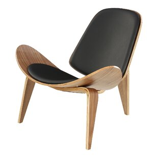 Arney Leather Guest Chair By Corrigan Studio