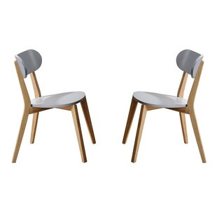 Affordable Kaeden Solid Wood Dining Chair (Set of 4) by George Oliver Reviews (2019) & Buyer's Guide