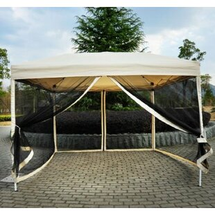 Haddox 9.5 Ft. W x 9.5 Ft. D Steel Pop-Up Canopy & Outdoor Canopies Youu0027ll Love | Wayfair