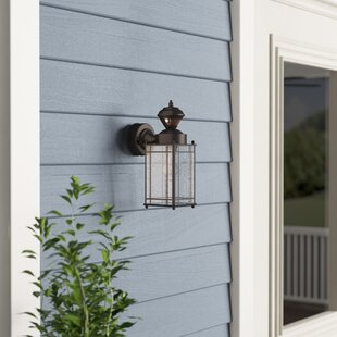 Alcott Hill Nordmeyer 1-Light Outdoor Wall Lantern
