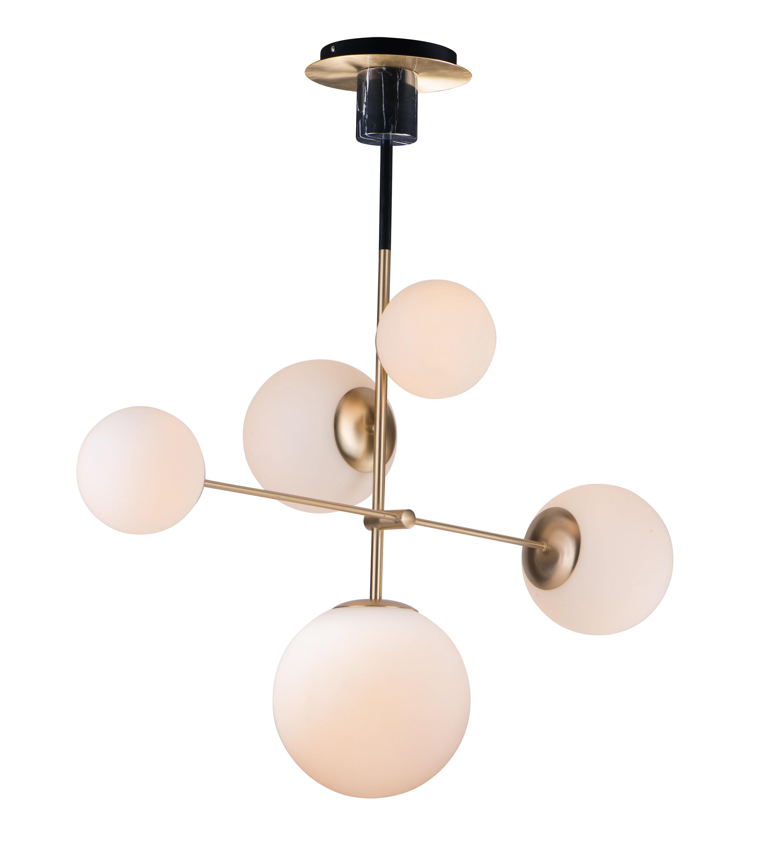 online retailer 5a236 4499c Bohrer 5-Light Sputnik Chandelier