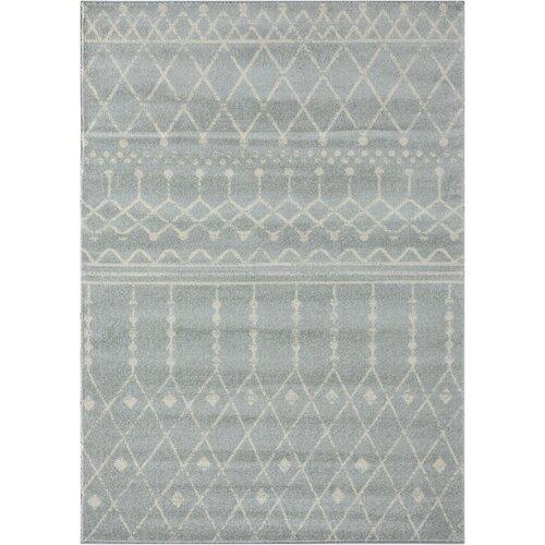 Gracie Oaks Cascio Southwestern Power Loom Cream Linen Rug Reviews Wayfair