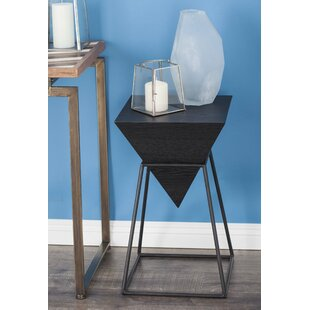 Wrought Studio Perryville Pyramid End Table